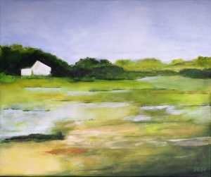 Landschap 02 (70x60cm, acryl, 2016)