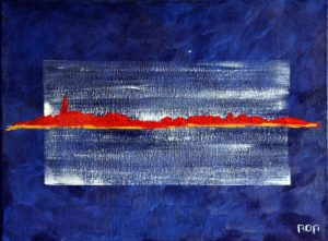 Gelselaar (30x40cm, acryl, 2009)